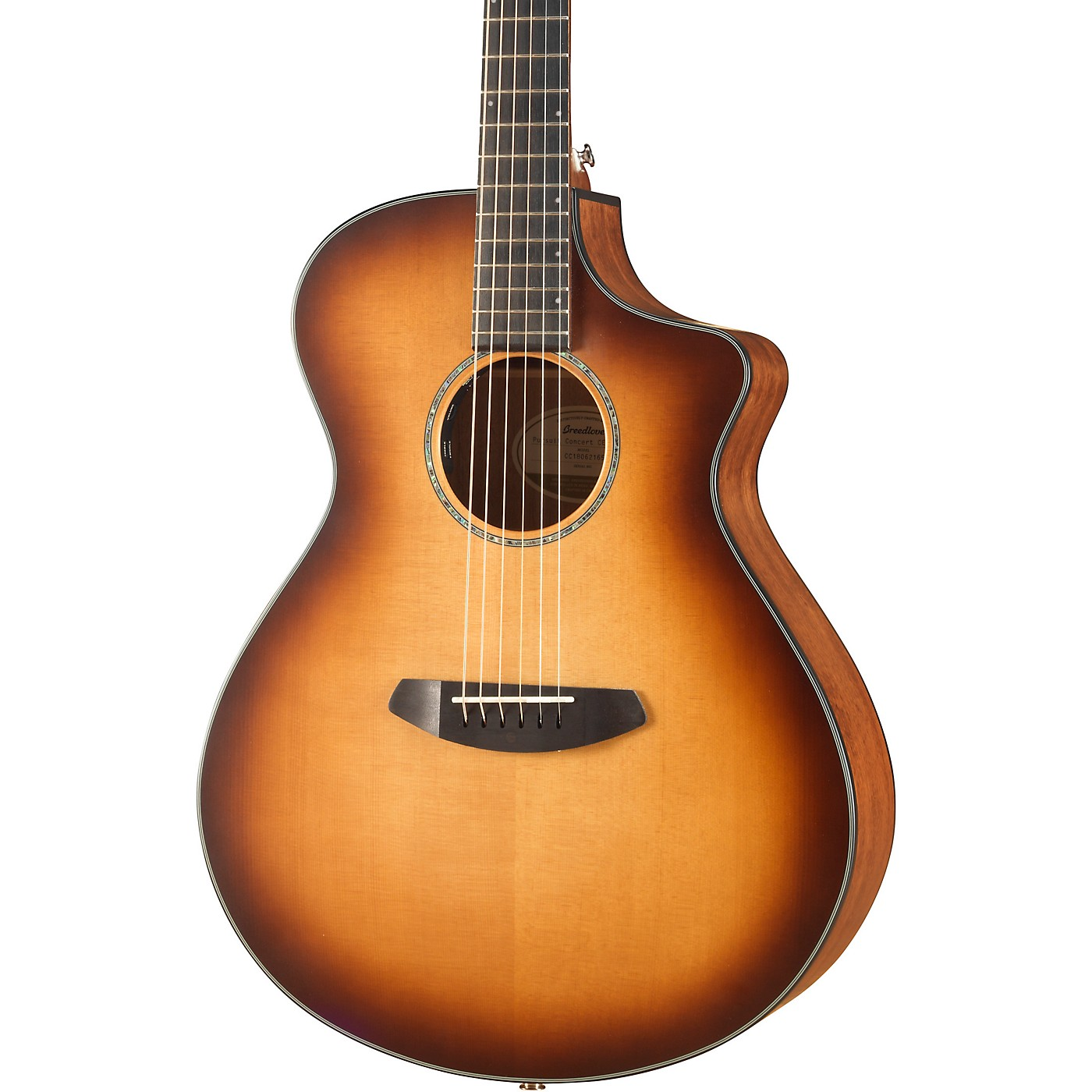 Breedlove Pursuit Concert Sitka-Mahogany Acoustic-Electric Guitar With Gig Bag thumbnail