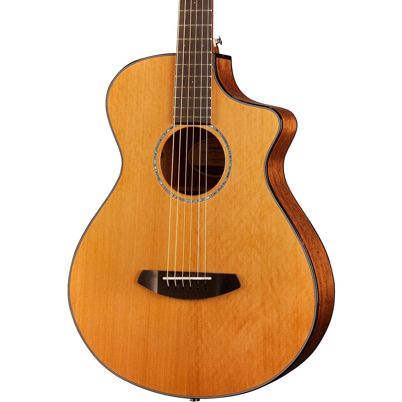 Breedlove Pursuit Concertina Cutaway CE Acoustic-Electric Guitar thumbnail