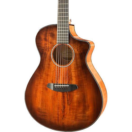 Breedlove Pursuit Exotic Concert CE Myrtlewood Acoustic-Electric Guitar thumbnail