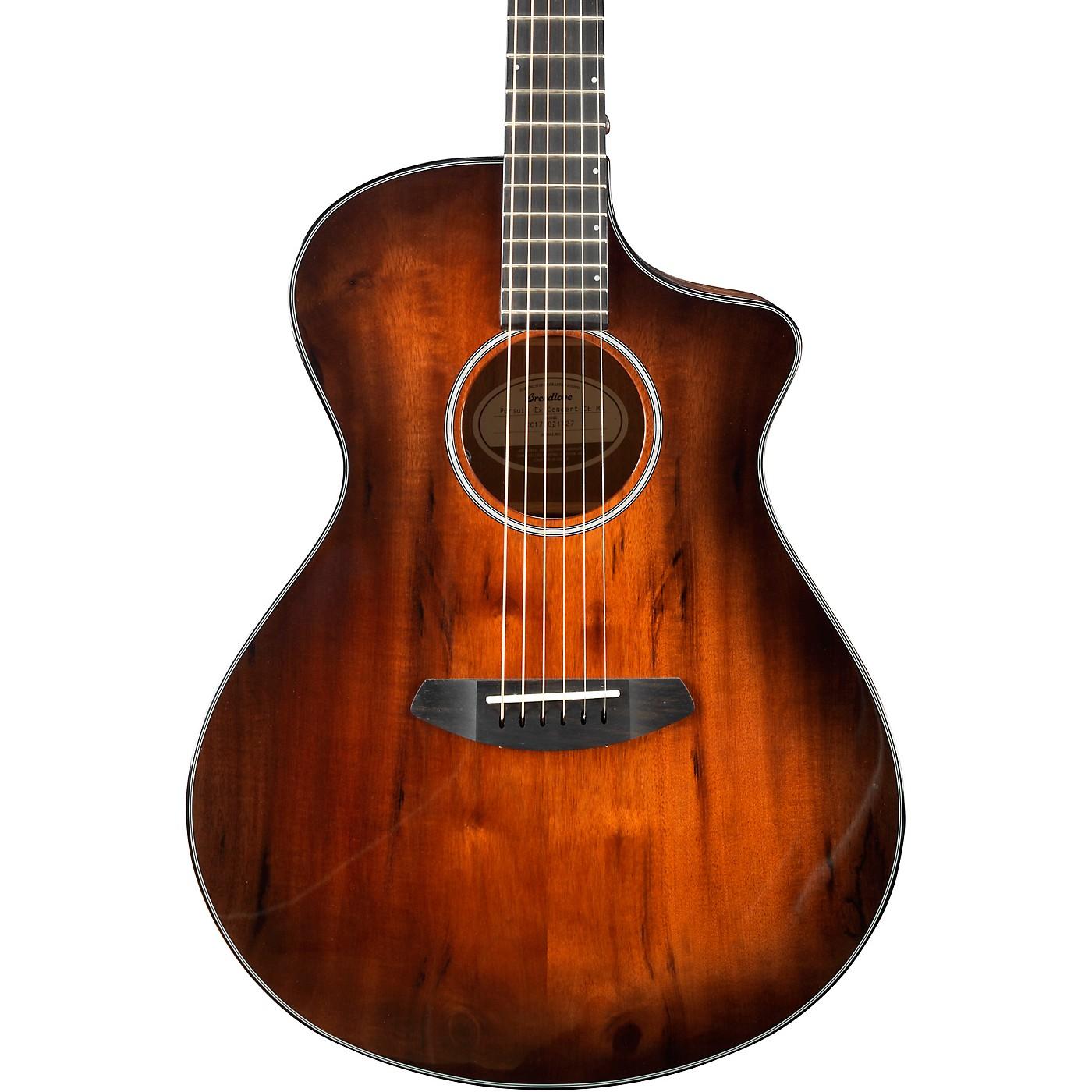 Breedlove Pursuit Exotic Concert Cutaway CE Myrtlewood Acoustic-Electric Guitar thumbnail