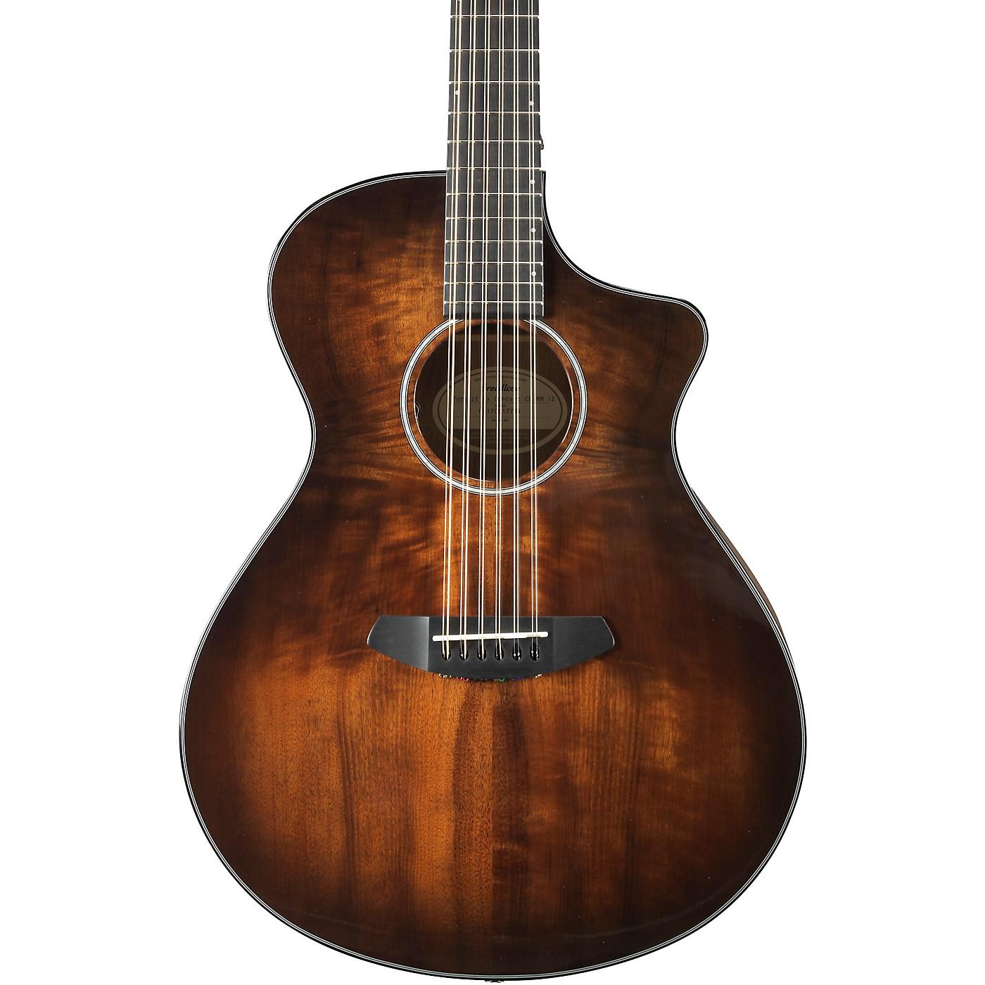 Breedlove Pursuit Exotic Concert Myrtlewood - Myrtlewood 12-String Acoustic-Electric Guitar thumbnail