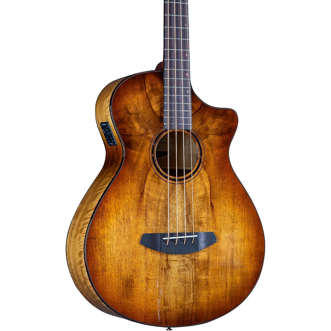 Breedlove Pursuit Exotic S CE Concerto Acoustic-Electric Bass thumbnail