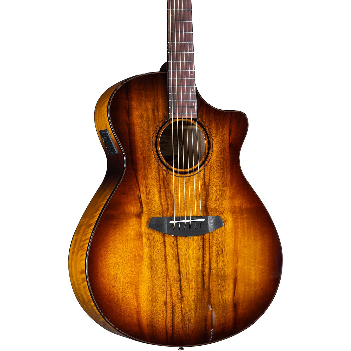 Breedlove Pursuit Exotic S CE Myrtlewood Concerto Acoustic-Electric Guitar thumbnail