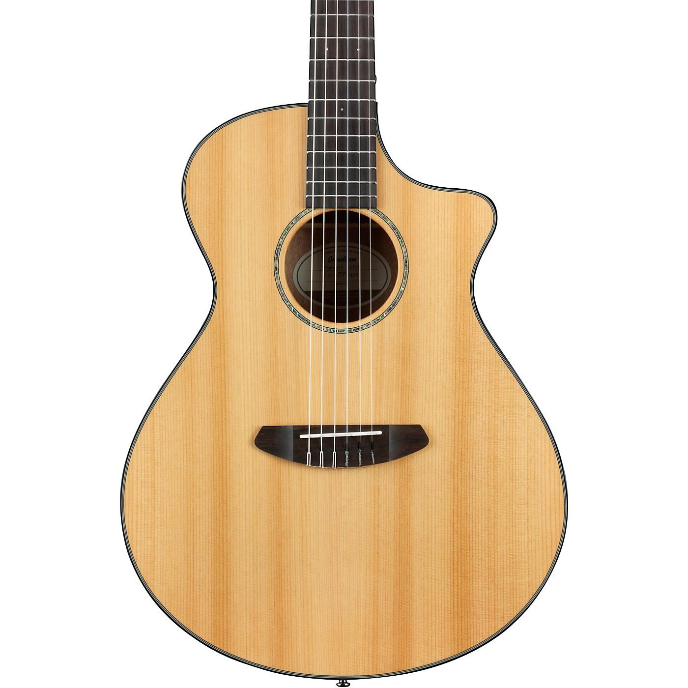 Breedlove Pursuit Nylon Concert Cutaway CE Acoustic-Electric Guitar thumbnail