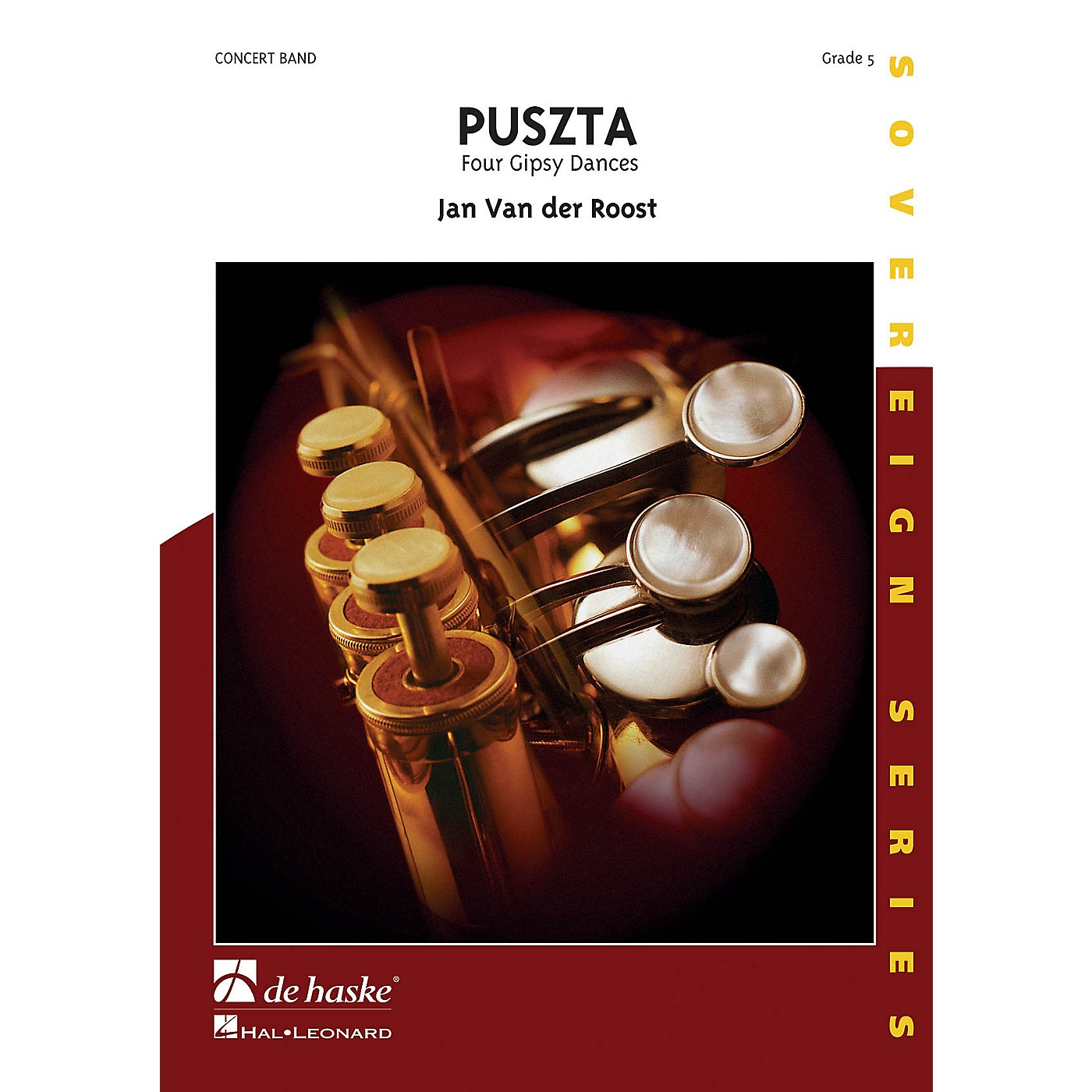 De Haske Music Puszta (Four Gipsy Dances) Concert Band Composed by Jan Van der Roost thumbnail
