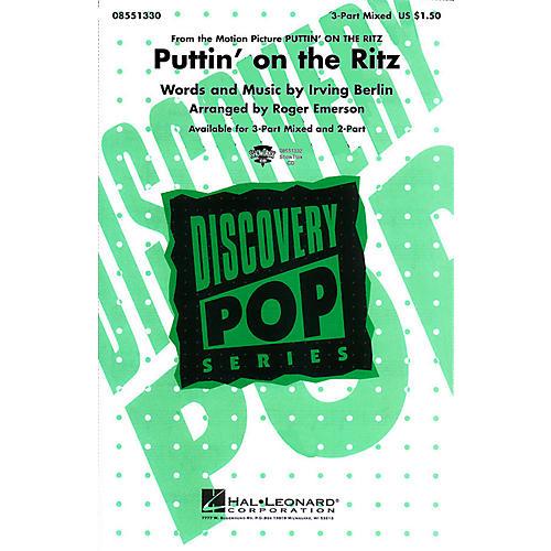 Hal Leonard Puttin' On the Ritz 3-Part Mixed arranged by Roger Emerson thumbnail