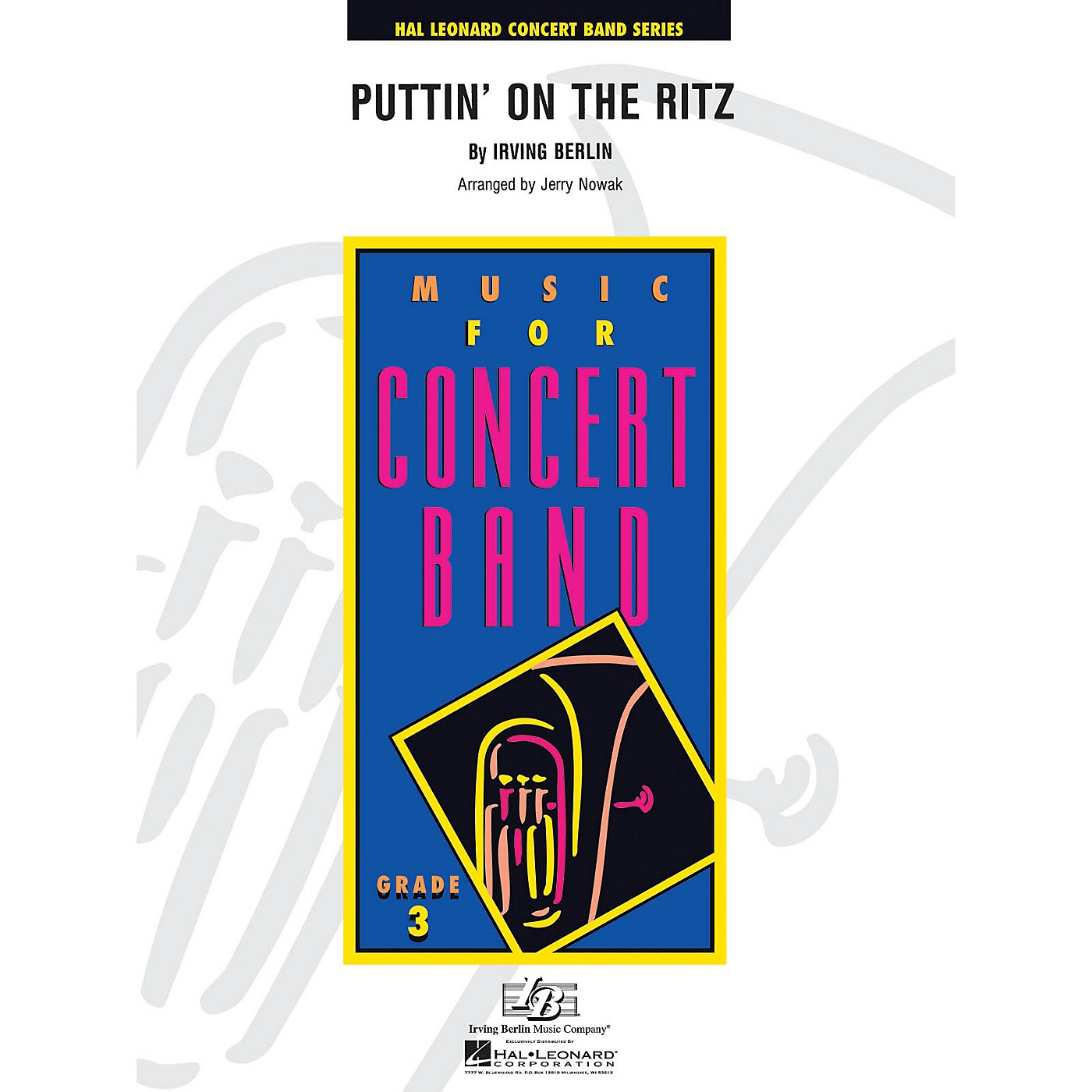 Hal Leonard Puttin' on the Ritz - Young Concert Band Level 3 arranged by Jerry Nowak thumbnail