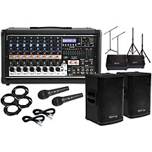 """Peavey Pvi8500 with KPX115 15"""" Speaker and 12"""" Monitor Package"""