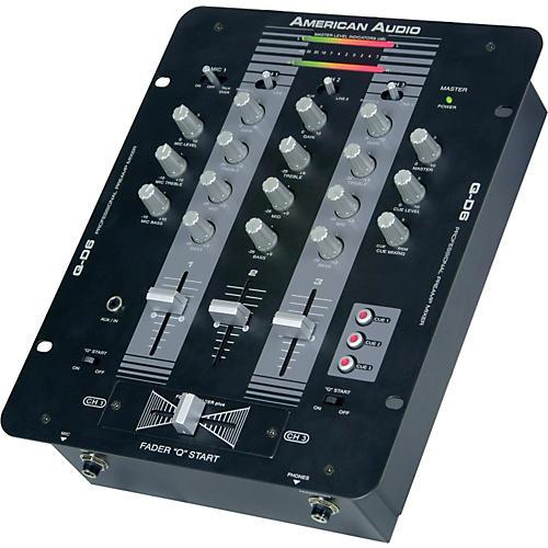 American Audio Q-D6 3-Channel DJ Mixer thumbnail