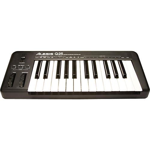Alesis Q25 25-Key Keyboard MIDI Controller-thumbnail