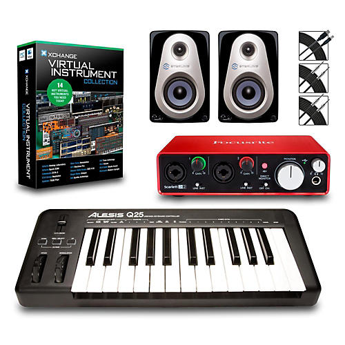 Alesis Q25 25-Key MIDI Keyboard Controller Packages thumbnail