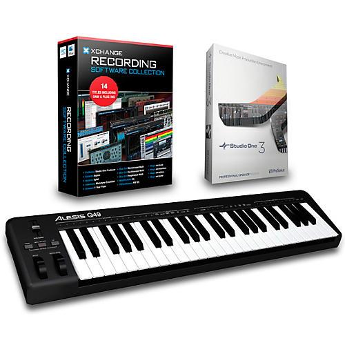 Alesis Q49 49-Key MIDI Keyboard Controller Packages thumbnail