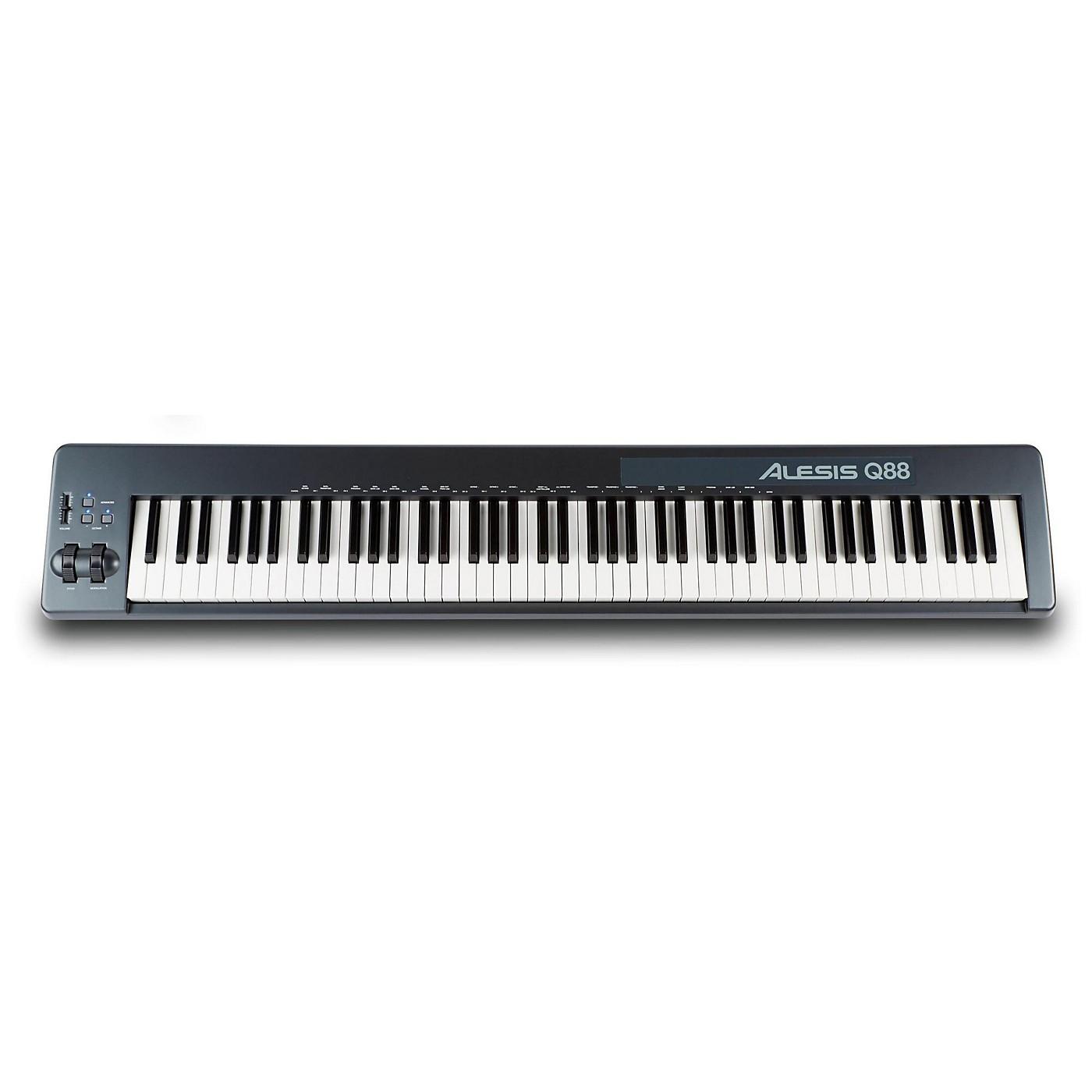 Alesis Q88 88-Key USB/MIDI Controller thumbnail