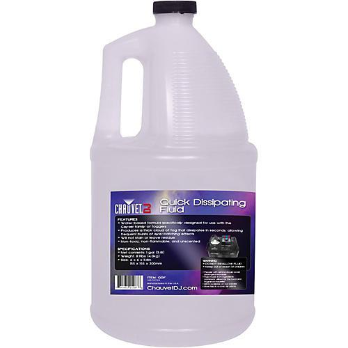 CHAUVET Professional QDF Quick Dissipating Fog Machine Fluid - 1 Gallon thumbnail