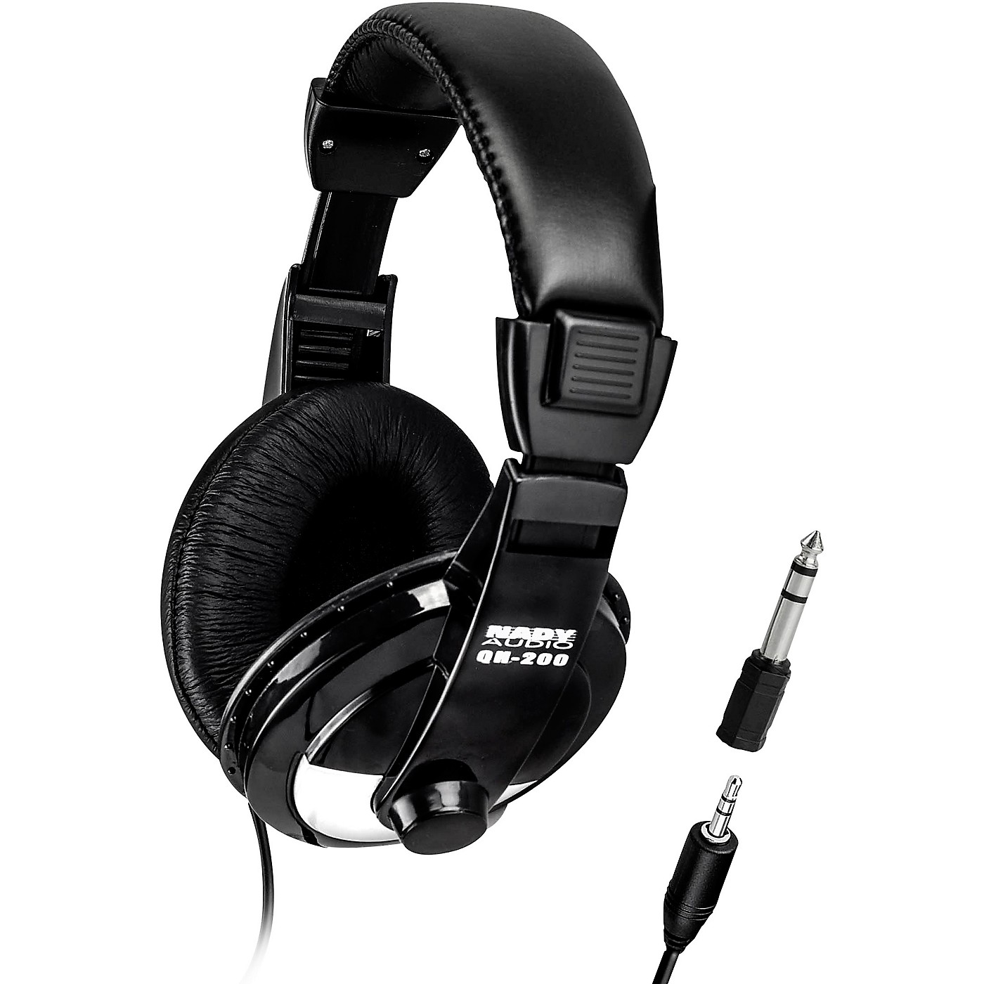 Nady QH-200 Stereo Headphones 40 mm drivers with adjustable headband thumbnail