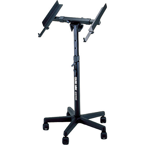 Quik-Lok QL-400 Fully Adjustable Mixer Stand with Casters-thumbnail