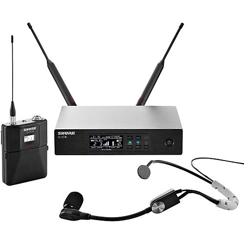 Shure QLX-D Digital Wireless System with SM35 Condenser Headset Microphone thumbnail