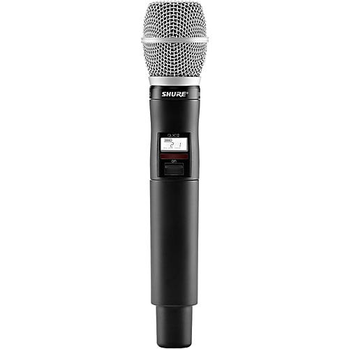 Shure QLX-D Wireless System with SM86 Handheld Transmitter thumbnail