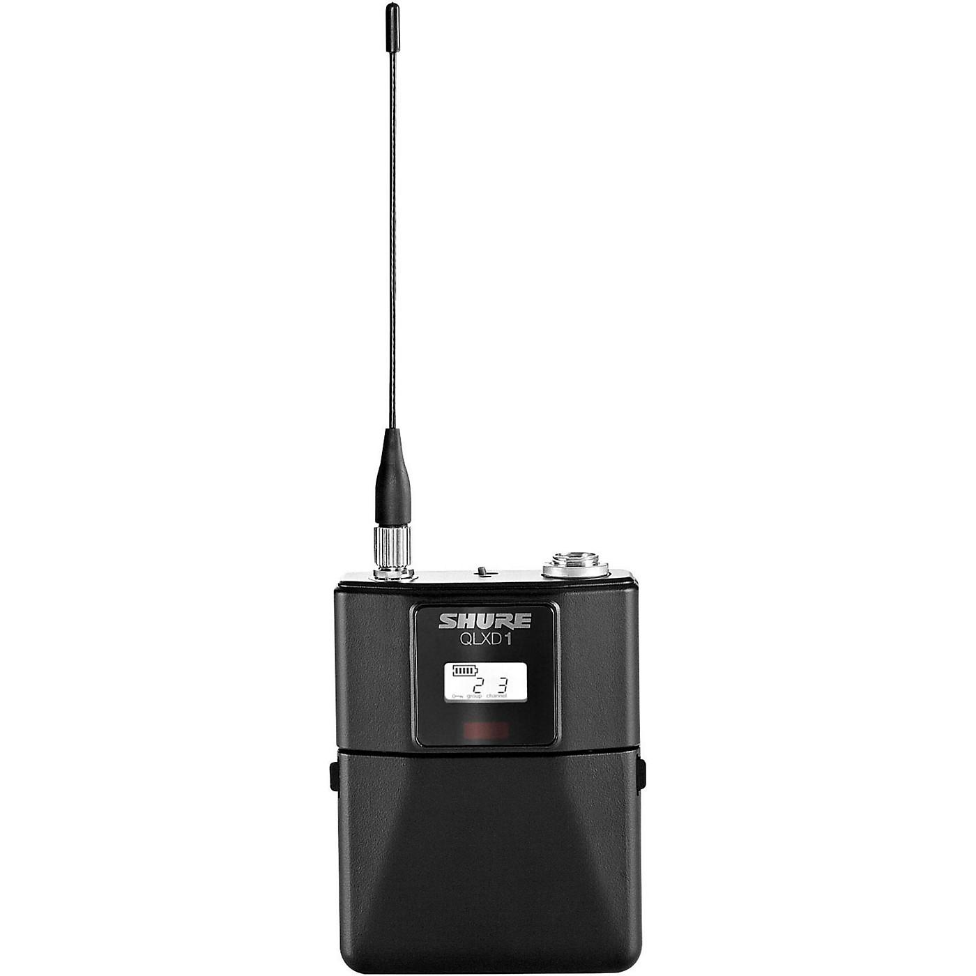 Shure QLXD1 Wireless Bodypack Transmitter thumbnail