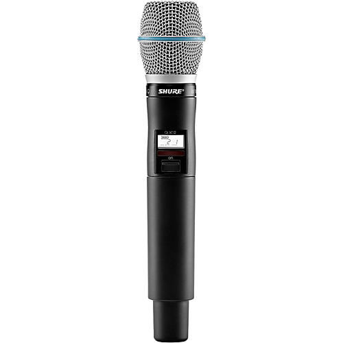 Shure QLXD2/BETA87C Handheld Wireless Microphone Transmitter thumbnail