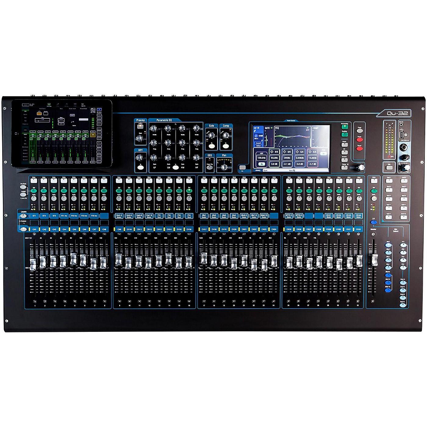 Allen & Heath QU-32 Chrome Edition Digital Mixer thumbnail