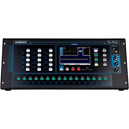 Allen & Heath QU-PAC Ultra Compact Digial Mixer with Touchscreen Control thumbnail