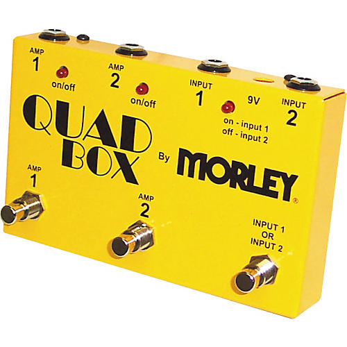 Morley Quad Box Guitar and Amp Switcher-thumbnail