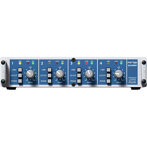 RME QuadMic II 4-Channel Microphone Preamp thumbnail