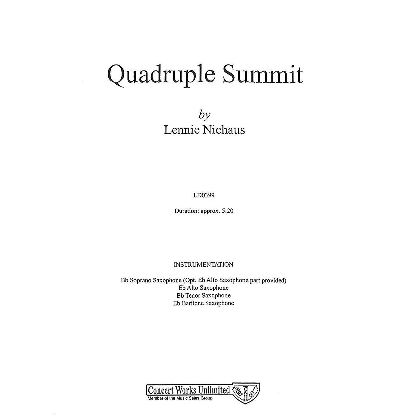 Hal Leonard Quadruple Summit Saxophone thumbnail
