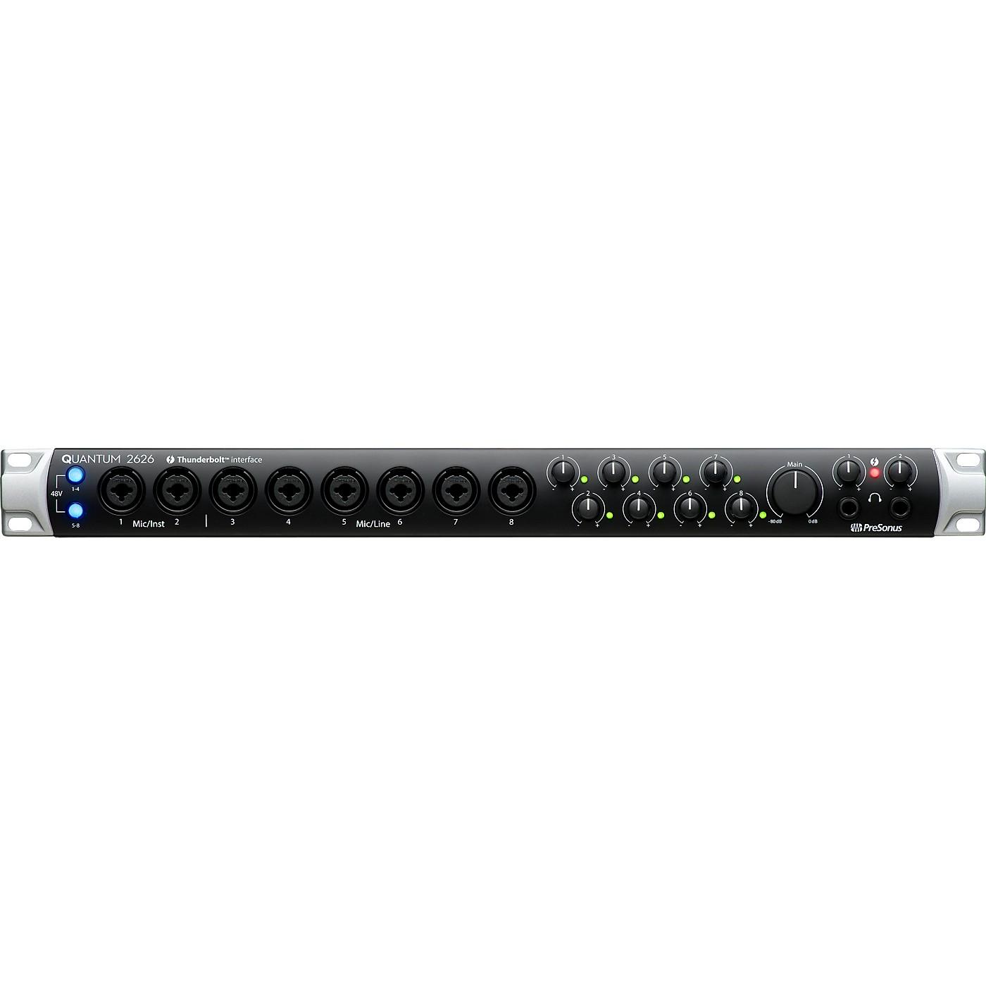 Presonus Quantum 2626 Thunderbolt 3 Audio Interface thumbnail