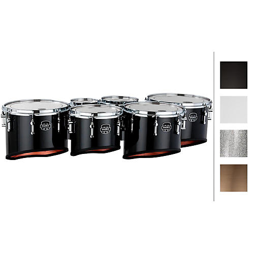 Mapex Quantum Marching Tenor Drums Sextet 6, 8, 10, 12, 13, 14 in. thumbnail