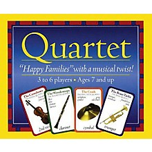 Music Sales Quartet - Instrument Card Game