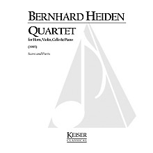 Lauren Keiser Music Publishing Quartet LKM Music Series Composed by Bernhard Heiden