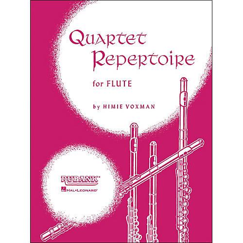 Hal Leonard Quartet Repertoire for Flute (Second Flute) thumbnail