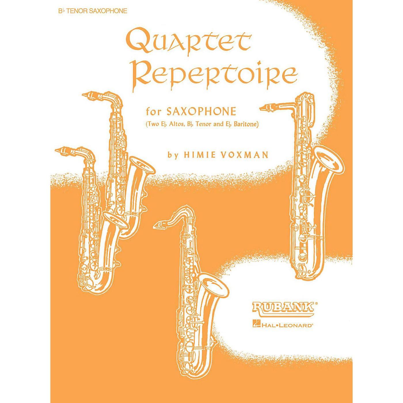 Hal Leonard Quartet Repertoire for Saxophone B Flat Tenor thumbnail