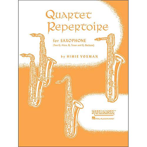 Hal Leonard Quartet Repertoire for Saxophone Full Score thumbnail