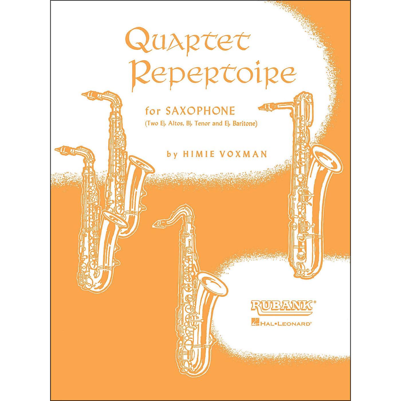 Hal Leonard Quartet Repertoire for Saxophone Second E Flat Alto thumbnail