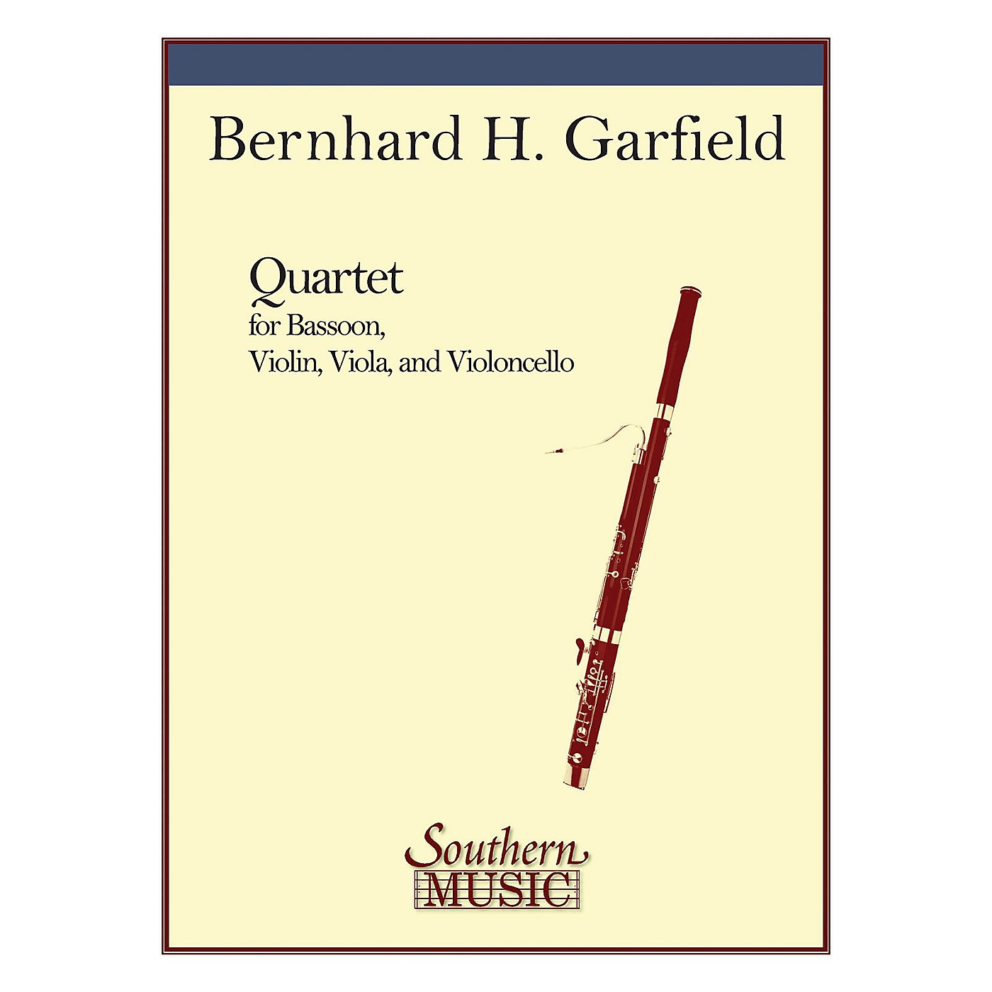 Southern Quartet (String Trio with Bassoon) Southern Music Series Composed by Bernard Garfield thumbnail