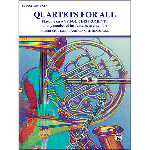 Alfred Quartets for All E-Flat Instruments thumbnail