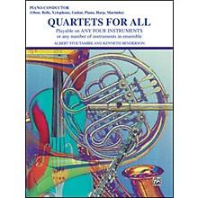 Alfred Quartets for All Piano/Conductor