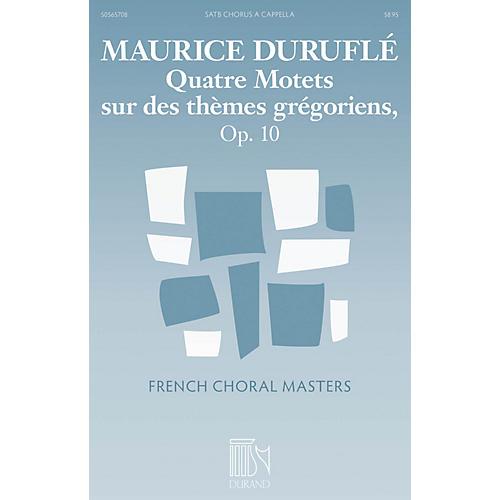 Durand Quatre Motets sur des themes gregoriens, Op. 10 SATB a cappella Composed by Maurice Durufle thumbnail