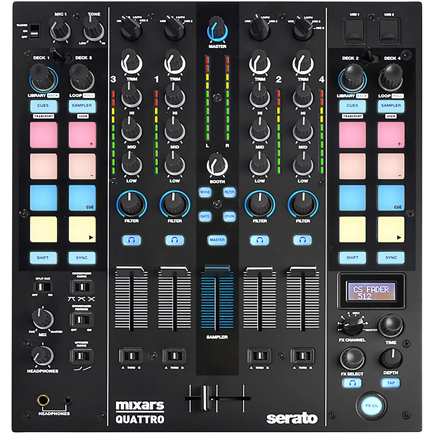 Mixars Quattro 4-Channel Serato DJ Pro Club Mixer thumbnail
