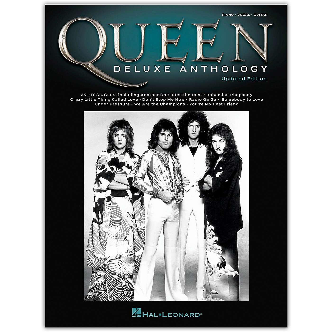 Hal Leonard Queen - Deluxe Anthology (Updated Edition) Piano/Vocal/Guitar Songbook thumbnail