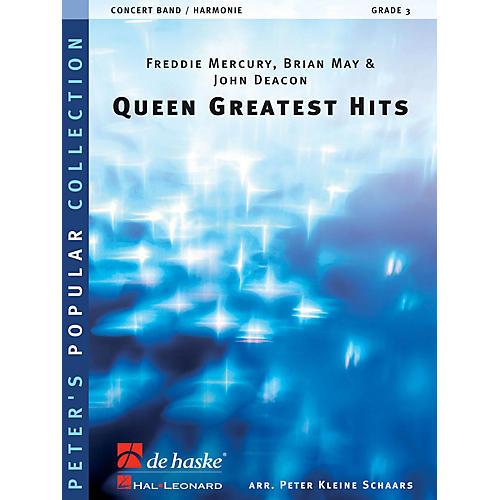 De Haske Music Queen - Greatest Hits Concert Band Level 4 by Queen Arranged by Peter Kleine Schaars thumbnail
