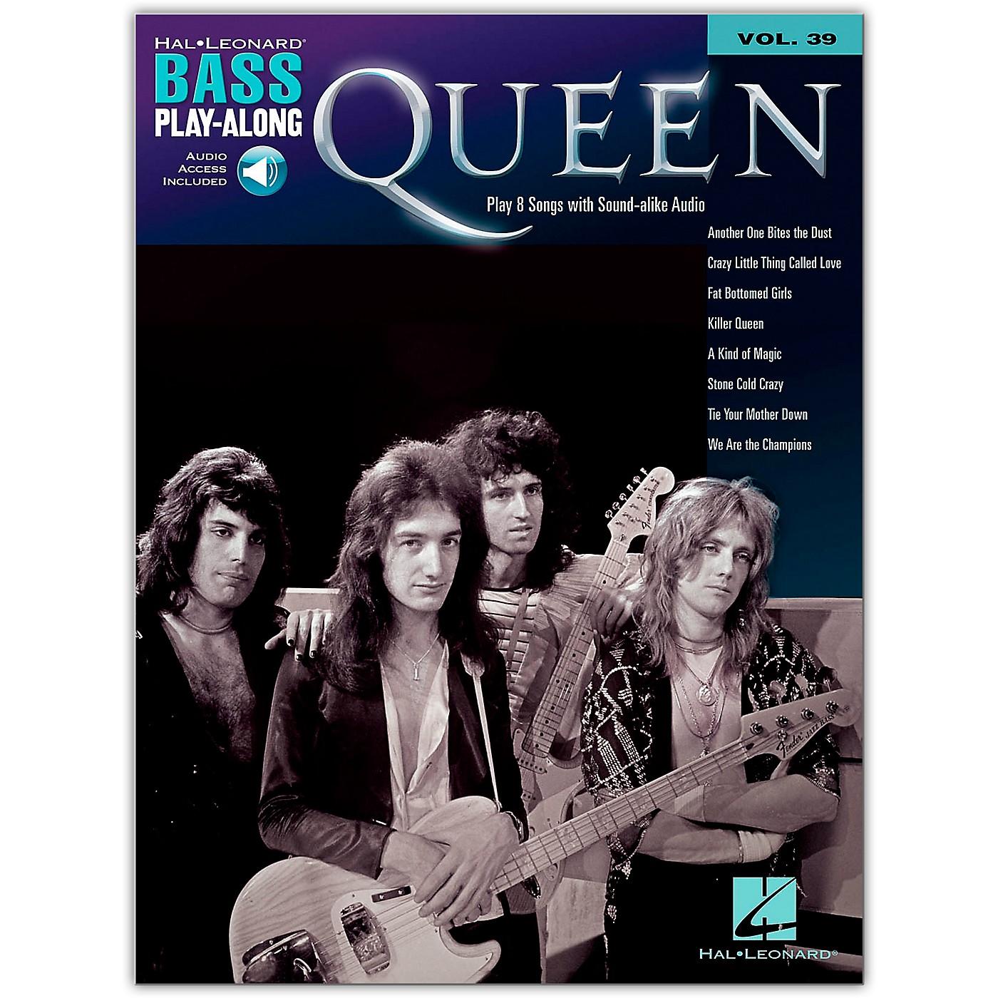 Hal Leonard Queen Bass Play-Along Volume 39 Book/Audio Online thumbnail