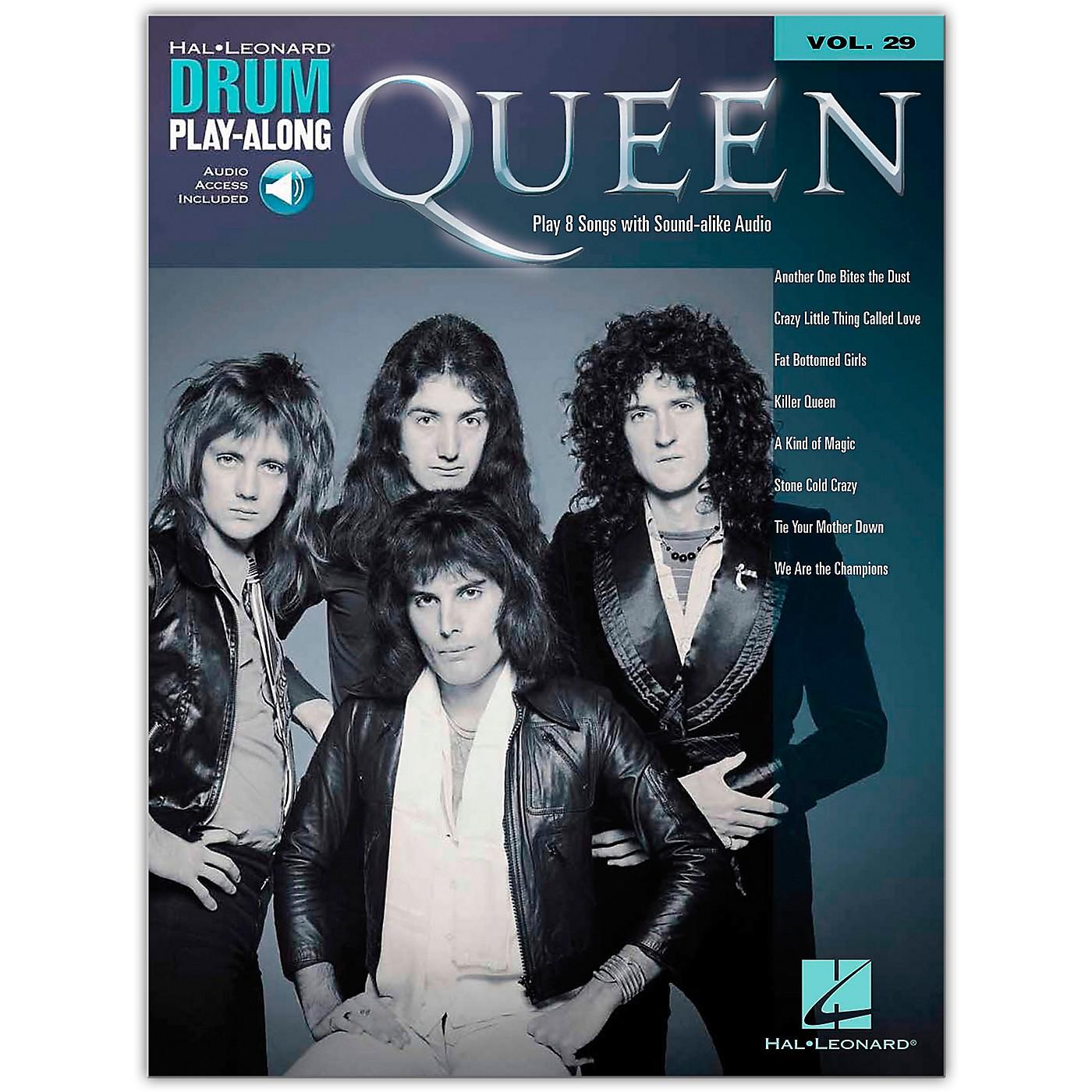 Hal Leonard Queen Drum Play-Along Volume 29 Songbook Book/Audio Online thumbnail