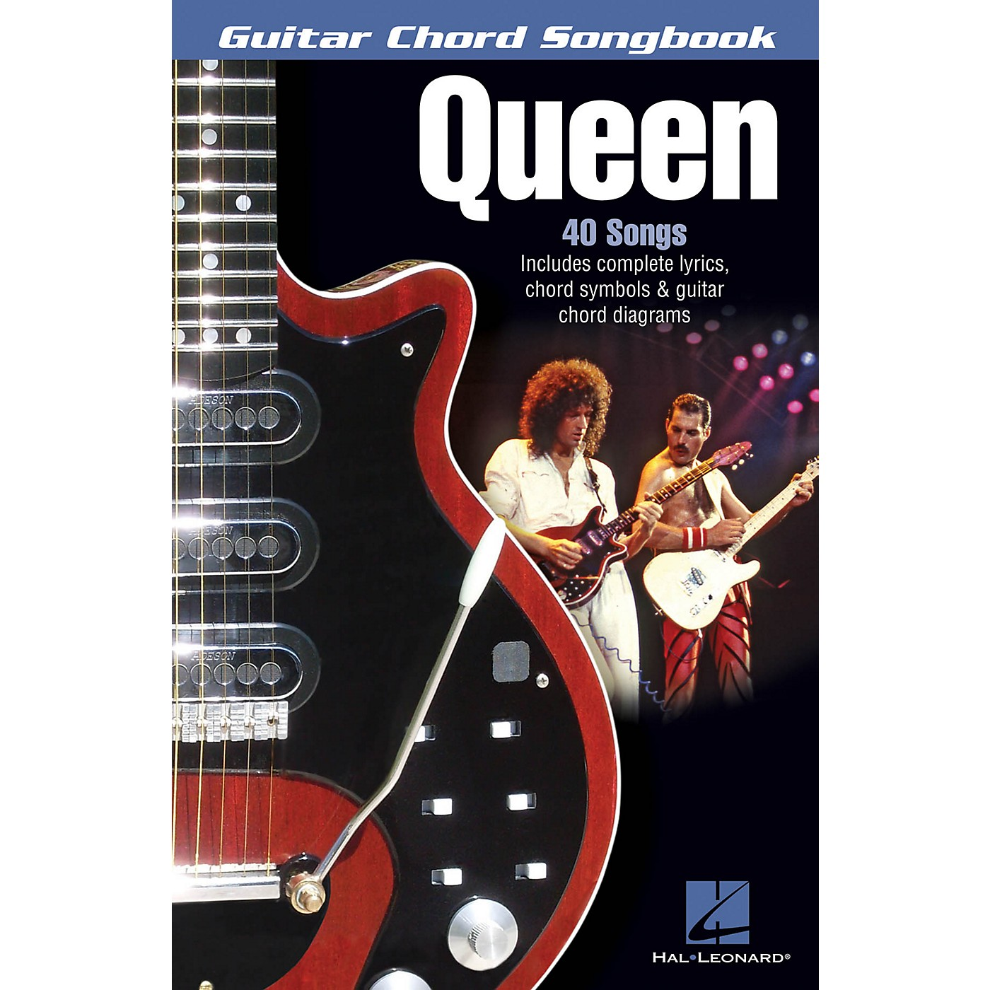 Hal Leonard Queen Guitar Chord Songbook Series Softcover Performed by Queen thumbnail