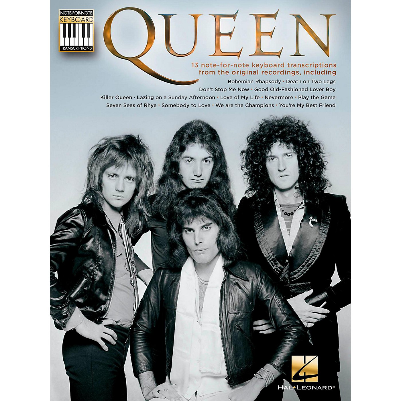 Hal Leonard Queen Note-For-Note Keyboard Transcriptions thumbnail
