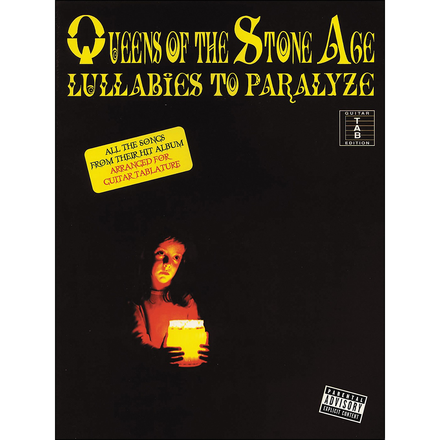 Cherry Lane Queens Of The Stone Age - Lullabies To Paralyze Tab Book thumbnail