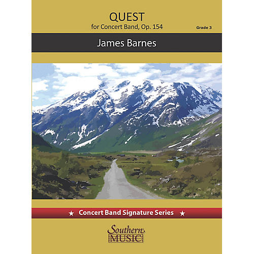 Southern Quest (Score and Parts) Concert Band Level 3 by James Barnes thumbnail